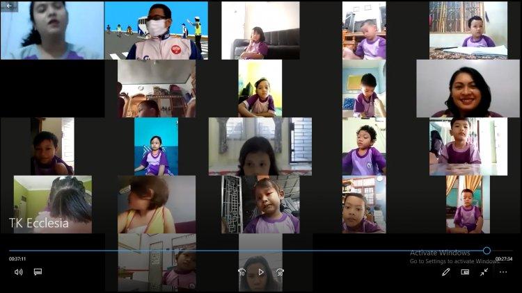 Ikut Webinar Safety Riding Capella Honda Riau Lagi, 70 Siswa TK Ecclesia Pekanbaru Antusias dapat Ilmu #Cari_aman di Jalan Raya
