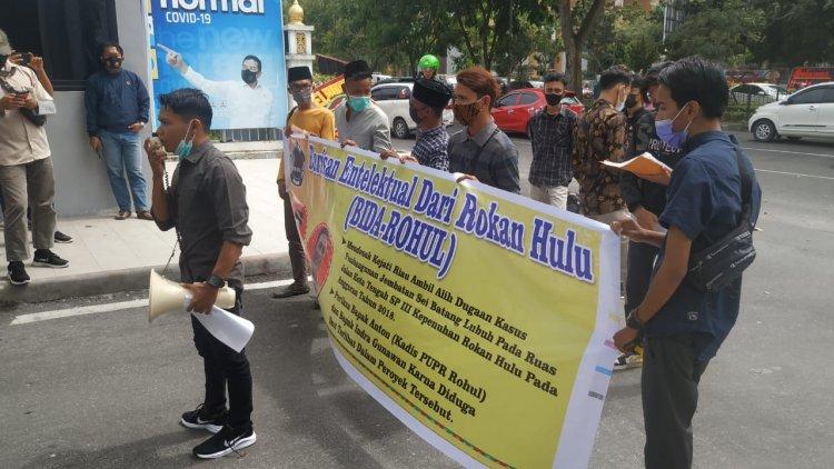 BIDA-ROHUL Desak Kejati Riau Ambil Alih Kasus Dugaan Korupsi Jembatan Sei Batang Lubuh