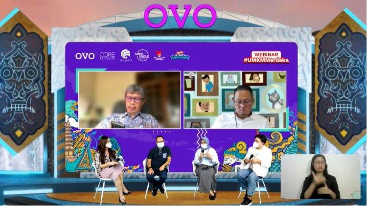 OVO Bantu Memacu Digitalisasi dan Transaksi Pembayaran UMKM Selama Pandemi